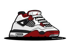 NIKE Sneaker Heritage by GODZILLARGE   Dribbble   Dribbble