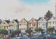 The 6 painted ladies in #sanfransisco