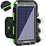 Some solar chargers have USB port which can be used for charging. But, some devices are more power hungry and will require an adapter for fast and effective charging. So, go on and hover the cursor and scroll down the top 10 best solar phone chargers. Solar Powered Phone Charger, Solar Phone Chargers, Solar Charger, Portable Solar Power, Light Flashlight, Usb, Compass, Camping, Smart Phones