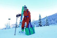 Team Skimp goes skiing.