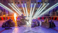 Robot Wars - prime time #engineering education