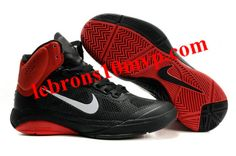 Nike Zoom Hyperfuse XDR 2010 Shoes Black/Varsity Red