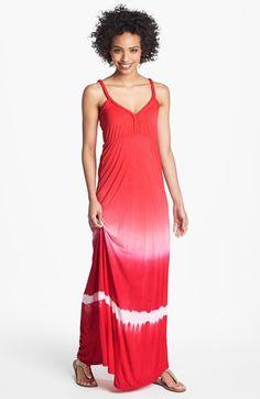 Tie Dye Maxi Dress.