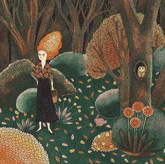 Fanny Ducassé - Les cheveux de feu | Oeuvres | Galerie Robillard