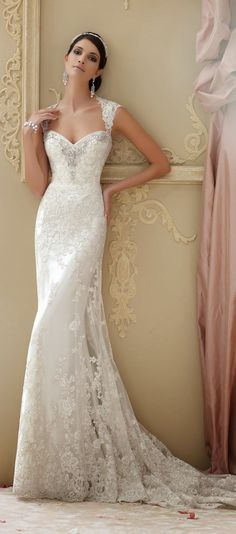 David Tutera for Mon Cheri Spring 2015 Bridal Collection | http://bellethemagazine.com