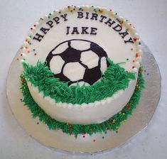 Orange cake without flour - HQ Recipes Cake Decorating Frosting, Creative Cake Decorating, Birthday Cake Decorating, Creative Cakes, Soccer Ball Cake, Soccer Cakes, Soccer Party, Soccer Birthday Cakes, Sport Cakes