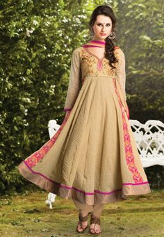 Uk Designer Home Wear Chiffon Suits 2014 Collection (6)