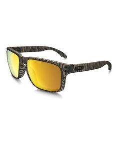 Loving this Matte Sepia & Gold Holbrook Urban Jungle Sunglasses - Men on #zulily! #zulilyfinds