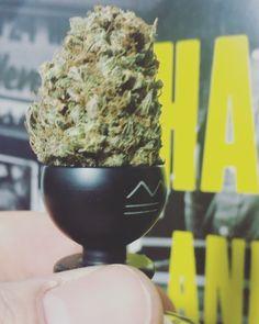 "(@metalforms_aut) auf Instagram: ""METALFORMS UNBREAKABLE matt-black bowl piece with CBD herb (<0.2%thc) #METALFORMS #cannabis…"""