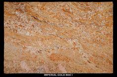 Imperial Gold granite 3cm -  at graniteworksmd.com Stone Slab, Vanities, Kitchen And Bath, Countertop, Granite, Natural Stones, Kitchen Ideas, Marble, Yard