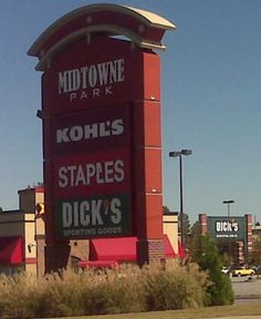 They didn't know what to name thiar mall so they named it dick's