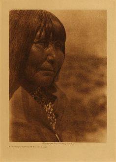 Paviotso Woman Of Walker Lake, Diegueno Tribe