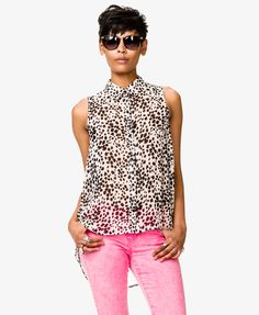 Dalmatian Print Shirt | FOREVER21 - 2047181946