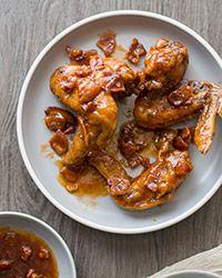 Maple-Bacon Chicken Wings