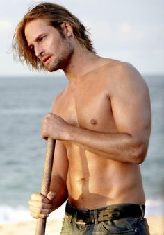 Josh Holloway STRANDED WITH HIM ON AN ISLAND SHIRTLESS ALL THE TIME??=HEAVEN