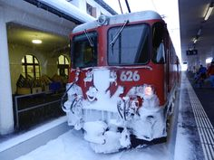 Every place in Switzerland including Scuol can be reached easely by train that was not at all affected by the blizzard!