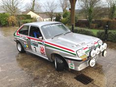 The Pentti Airikkala Works 1979 Vauxhall Chevette HSR Sedan - For Sale At Auction Car Pics, Car Pictures, Saloon, Rally Raid, Old Classic Cars, Sports Car Racing, Diesel Locomotive, Art Cars, Peugeot