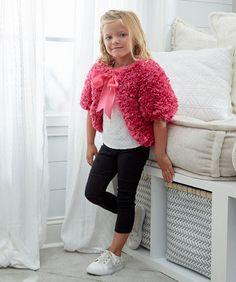 Girls' Fashion Fur Shrug