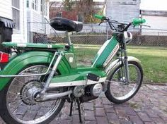 Peugeot 103 - my grandma's moped that we are fixing up to use!