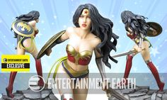 Fantasy Figure Gallery DC Comics Collection Wonder Woman Variant Resin Statue