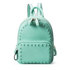 6478cd5b8081 Fresh Street Candy Colors Solid Rivet College Travel Backpack only $38.99