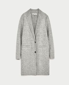 Image 8 of MASCULINE-STYLE COAT from Zara
