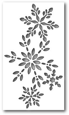 Snowflake Themed Dies, Embossing Folders, Punches - 123Stitch.com