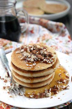 Simple 6-ingredient Paleo Pancakes (Grain-Free, Dairy-Free) - My Heart Beets