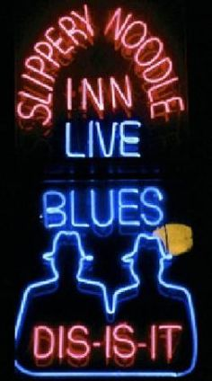 the Slippery Noodle Inn - best blues bar in Indianapolis