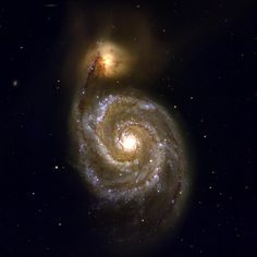 Whirlpool Galaxy • M51 / Harvard-Smithsonian CfA / Observers: Brian McLeod / MMT/Megacam