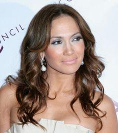 Jennifer Lopezs long hairstyle