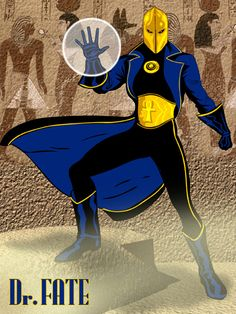 Dr. Fate re-design by jaypiscopo on deviantART