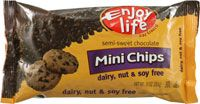Enjoy Life Semi-sweet Chocolate Mini Chips - CLEAN chocolate chips at excellent price from Vitacost!
