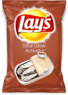 BAHAHAHAHA!!!!!!! Oh my word, Soul Glow Activatur Lays chips. Only 5'rs will get this. xD