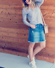 Happy International Women's Day! I'm honored to be a part of such a #coolgirl tribe with all of my #stylecollectivesisters that uplift & empower each other along with all of the amazing women I feel blessed to know and love  #girlpower #internationalwomensday  Oh almost forgot...this denim skirt is so good...I had to show it to you again with a different look