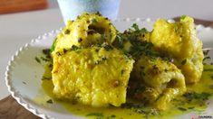 Receita de Rolinhos de peixe-espada com caril. Descubra como cozinhar Rolinhos de peixe-espada com caril de maneira prática e deliciosa!