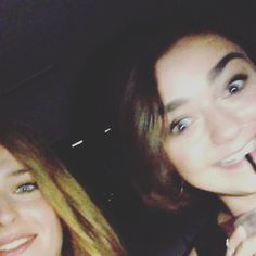 Pin for Later: Game of Thrones Costars Sophie Turner and Maisie Williams Are the Cutest BFFs  Their singing skills were on display once again in a July 2014 Instagram video Sophie shared.