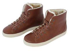 Vegan Shoes & Bags: Polar Lady's Sneaker by FAIR in Chestnut