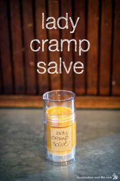 This lady cramp salve is for those days when your uterus is staging an in-body uprising. If you are not the proud owner of a uterus, perhaps you'd like to bake a cake or something instead of making this salve—of … Continue reading → Remedies For Menstrual Cramps, Cramp Remedies, Herbal Remedies, Health Remedies, Bloating Remedies, Natural Medicine, Herbal Medicine, Cough Remedies For Adults, Diy Cosmetic