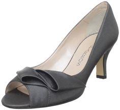 """Caparros """"Tricia"""" in slate crepe, 2.5"""" heel, $58"""