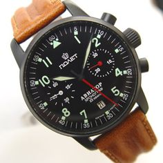 Military Style watches have been around for a minute, I know. But Poljot is Russian! therefore ignored by the menswear-blogodrome, and therefore I must have this Aviator Chronograph.
