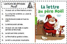 Atelier de lecture - Lecture de phrases sur le thème de Noël