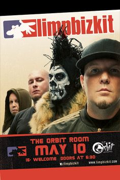 05/10/13 - Grand Rapids, MI - Orbit Room    Show info: http://orbitroom.com/shows/lb_05102013.html    Tickets: http://www.ticketmaster.com/event/08004A81ACA23F79?C=LNSM_CT_DetroitOrbit_LimpBizkit_Orbit_Web_040313