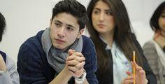 Schülercampus an der Uni Hildesheim - Der Lehrerberuf soll für Migranten interessanter werden.