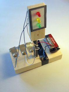 Build a traffic light circuit projects, stem projects, science fair projects, school projects Science Projects For Kids, Stem Projects, Science Experiments Kids, Science For Kids, School Projects, Circuit Projects, Science Fun, Robotics Projects, Engineering Projects