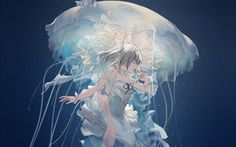 Image result for underwater manga cartoon