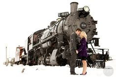 Pretty engagements @Shelby Ranostaj think they would let you and aussie use the hogwarts express for a pic?!