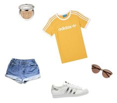 """""""Adidas"""" by grograndahl on Polyvore featuring adidas, Christian Dior and Witchery"""