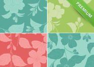Big-floral-background-pack Photoshop Brushes, Wallpapers, Shapes, Texture, Orange, Big, Floral, Pattern, Surface Finish