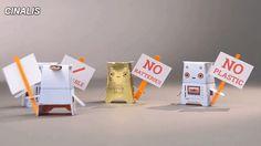 Crafty Robot USB girişi olan cihazlarla şarj edebileceğiniz, kağıttan veya herhangi bir maddeden yapılmış minik robotlara takabileceğiniz bir elektronik kit: Crafty'nin proglamlanabilme özelliği yok, robotunuzun şekli hareket kabiliyetini de belirliyor by Kickstarter #cocuk #oyuncak #tasarim #yaratici #elektronik #teknoloji #kickstarter